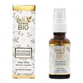 Huile Elixir JEUNESSE INTENSE pour peau dénutrie BELLE OEMINE BIO