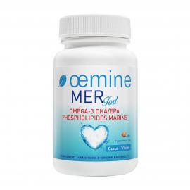 OEMINE MER FORT oméga-3 phospholipides - 60 Capsules